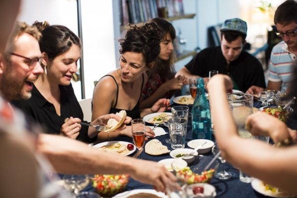 Following Jesus' Lead:  Breaking Bread Together