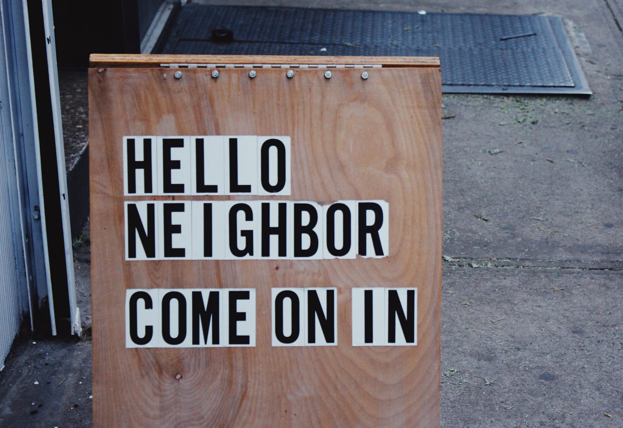 Being Christian, Being Neighborly