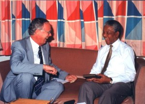 Mandela and Michael Cassidy