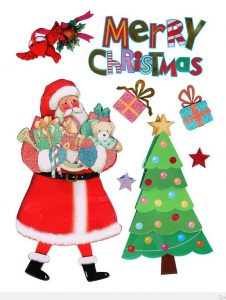 merry-christmas-santa-claus-send-gift-happy-new-year-decoration-home-decor-wall-sticker-decals
